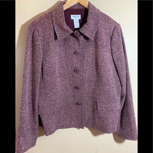 Henry Lee Petite Womens Blazer Size 16p
